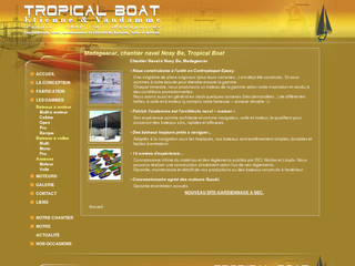 Madagascar, chantier naval Nosy Be, Tropical Boat - Madagascar, chantier naval Nosy Be, Tropical Boat