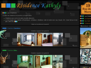 Kathyly Résidence - Les Chambres